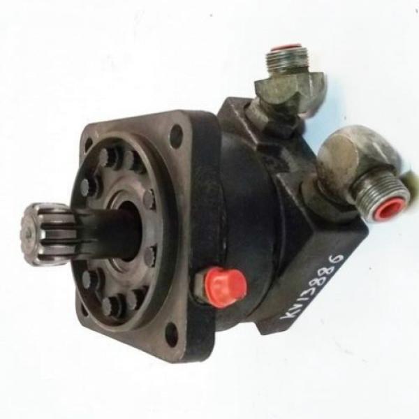 John Deere 328D 2-SPD RH Reman Hydraulic Final Drive Motor #3 image
